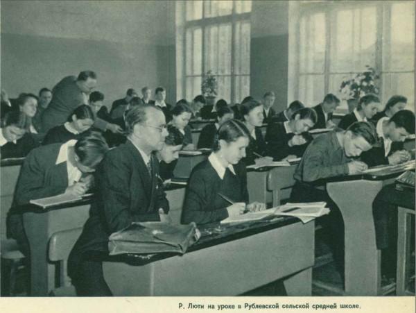 """Из журнала """"Советский Союз"""" - 1954-06 (52) - Статья """"Гости из Швейцарии"""""""